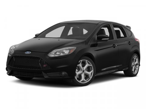 2013 Ford Focus ST TangerineBlack W Tanger V4 20L Manual 12 miles  Turbocharged  Front Wheel