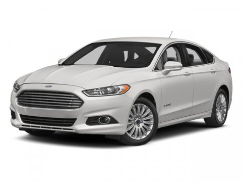 2013 Ford Fusion Hybrid White Platinum Metallic Tri-CoatDUNE V4 20L Variable 0 miles  Front Wh