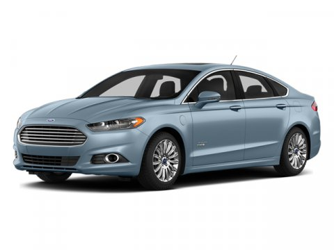2013 Ford Fusion Energi SE Luxury Ice StormDune Leather V4 20L Variable 3465 miles  Front Whee