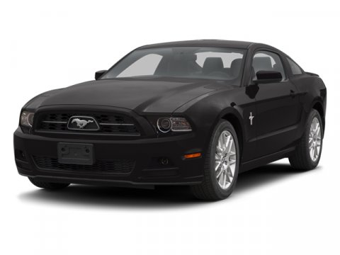 2013 Ford Mustang V6 Premium Coupe RWD Sterling Gray MetallicCharcoal Black V6 37L Automatic 2