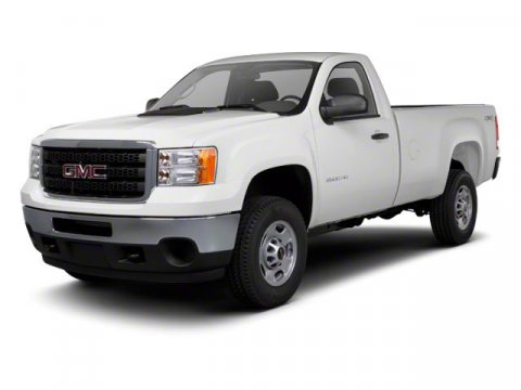2013 GMC Sierra 2500HD Work Truck Summit White V8 60L Automatic 2 miles This is all ready to g