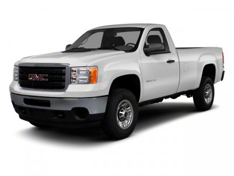 2013 GMC Sierra 3500HD Work Truck Summit WhiteDark Titanium V8 60L Automatic 5 miles  AUDIO SY