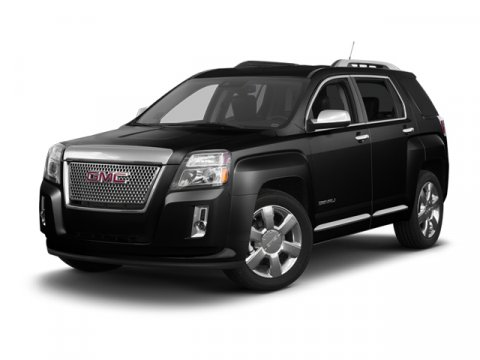 2013 GMC Terrain Denali Quicksilver MetallicJet Black V6 36L Automatic 159 miles  ENGINE 36L