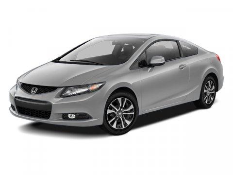 2013 Honda Civic Cpe EX-L Crystal Black PearlGray V4 18L Automatic 22691 miles  Front Wheel D