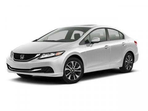 2013 Honda Civic Sdn EX w Navigation Polished Metal MetallicGray V4 18L Automatic 17214 miles