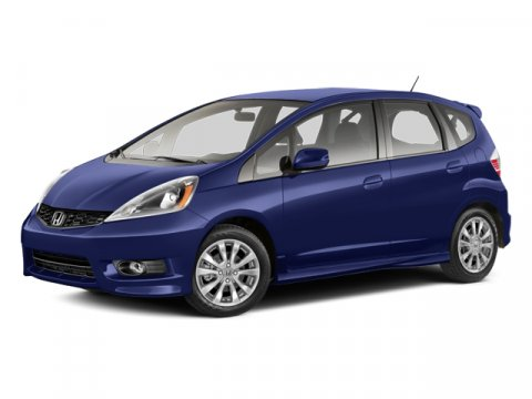 2013 Honda Fit Sport Polished Metal MetallicBlack V4 15L Automatic 2 miles  Front Wheel Drive