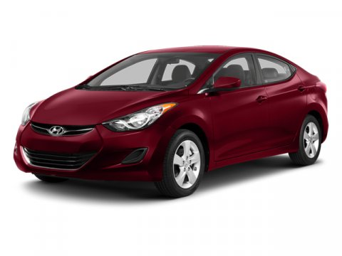 2013 Hyundai Elantra Red V4 18L Automatic 37888 miles  Front Wheel Drive  Power Steering  4-