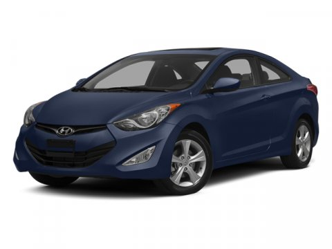 2013 Hyundai Elantra Coupe Blue V4 18L Automatic 4808 miles Named the 2012 North American Car