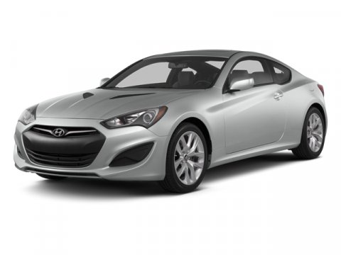 2013 Hyundai Genesis Coupe Silver V6 38L  10770 miles  Rear Wheel Drive  Power Steering  4-W