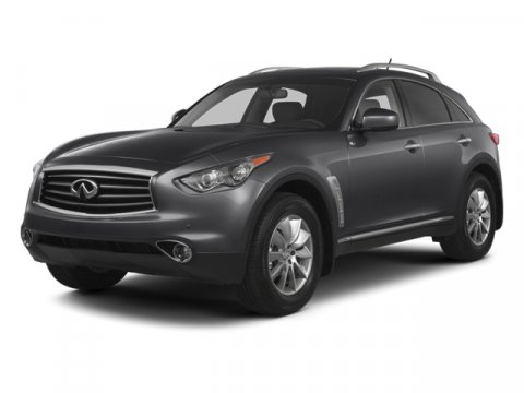 2013 Infiniti FX37 Moonlight WhiteJava V6 37L Automatic 0 miles From wide stance to declarativ