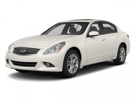 2013 Infiniti G37 Sedan Journey RWD WhiteGraphite V6 37L Automatic 54286 miles One Owner Whi