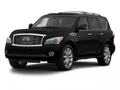 2013 Infiniti QX56 Black ObsidianTHEWHL V8 56L Automatic 0 miles Unmatched sensory immersion
