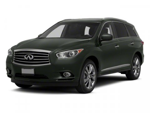 2013 Infiniti JX35 Black Obsidian V6 35L Variable 0 miles In the world of 7-passenger crossove