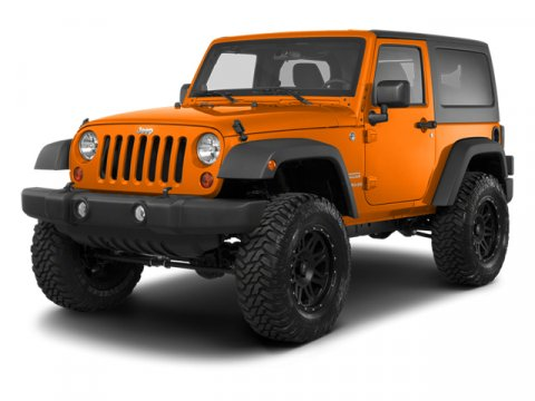 2013 Jeep Wrangler C Orange V6 36L Automatic 34783 miles  Four Wheel Drive  Tow Hooks  Power