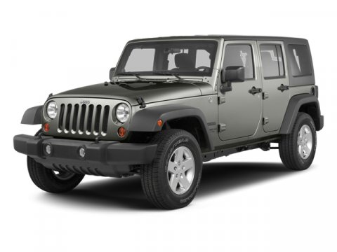 2013 Jeep Wrangler Unlimited Rubicon Commando GreenBlack Interior V6 36L  100 miles  LockingL