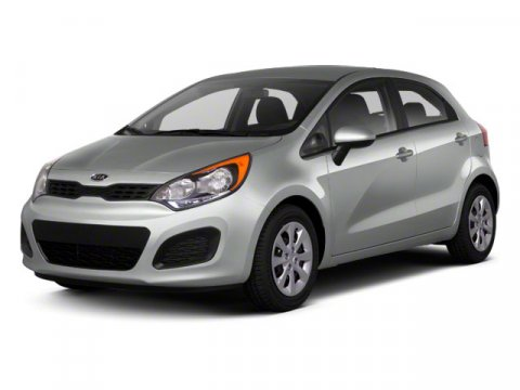 2013 Kia Rio LX Bright SilverCLR511 V4 16L Manual 48646 miles  Front Wheel Drive  Power St