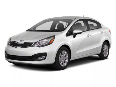 2013 Kia Rio LX Clear White V4 16L Automatic 6522 miles  Front Wheel Drive  Power Steering