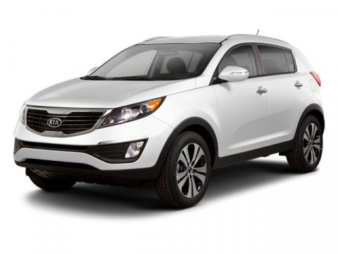 2013 Kia Sportage EX Clear White V4 24L Automatic 14 miles  All Wheel Drive  Power Steering