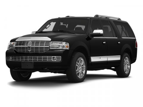 2013 Lincoln Navigator L 4X4 WhiteStone V8 54L Automatic 40780 miles One Owner White with Gr