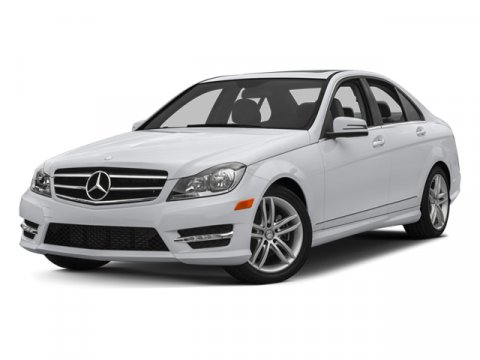 2013 Mercedes C-Class C300 Polar WhiteBlack V6 35L Automatic 7001 miles  LUXURY PKG -inc comf
