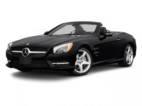 2013 Mercedes SL-Class SL550 Diamond White MetallicBeigeBrown V8 46L Automatic 0 miles  BEIGE