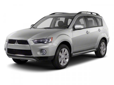 2013 Mitsubishi Outlander GT Diamond White Pearl V6 30L Automatic 7 miles  All Wheel Drive  P