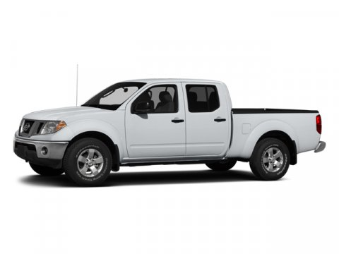 2013 Nissan Frontier S Glacier WhiteSTEEL V6 40L Automatic 47 miles  A92 UNDER RAIL BED LINE