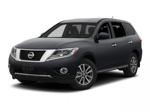 2013 Nissan Pathfinder SL Dark Slate V6 35L Variable 0 miles  All Wheel Drive  Tow Hooks  Po