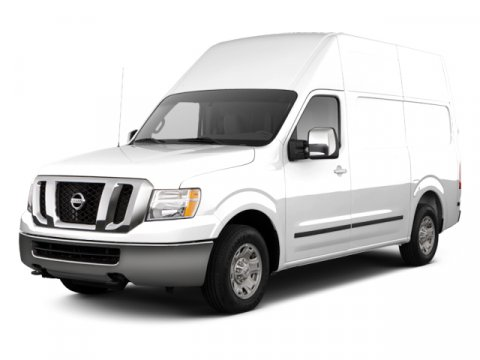 2013 Nissan NV Glacier WhiteGray V6 40L Automatic 50 miles  Rear Wheel Drive  Power Steering