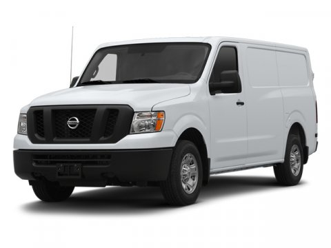 2013 Nissan NV S Glacier White V6 40L Automatic 67 miles  Rear Wheel Drive  Power Steering