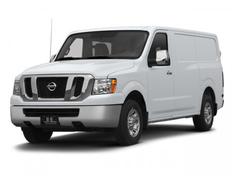 2013 Nissan NV SV Glacier White V6 40L Automatic 8 miles  Rear Wheel Drive  Power Steering