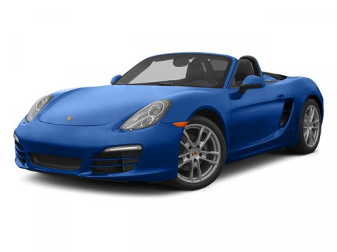 2013 Porsche Boxster Convertible RWD Dark Blue MetallicPlatinum Grey V6 27L Manual 40891 miles