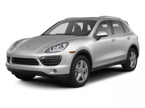 2013 Porsche Cayenne S WhiteBlack V8 48L Automatic 6734 miles  All Wheel Drive  Power Steerin