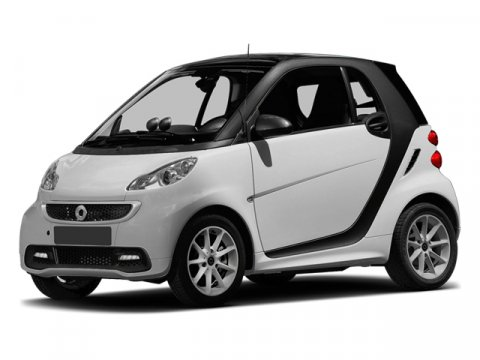 2013 Smart fortwo electric drive Silver MetallicBlack V0  Automatic 23 miles  Electric Motor