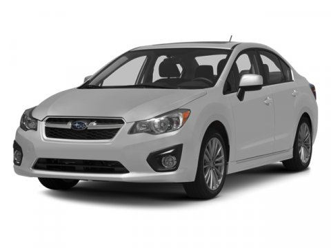 2013 Subaru Impreza Sedan Limited Satin White PearlTaupe V4 20L Variable 5 miles  ALL WEATHER