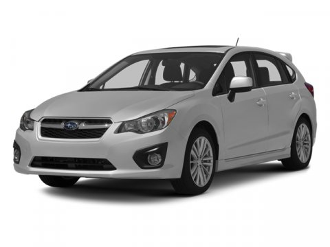 2013 Subaru Impreza Wagon 20i Premium Satin White PearlTaupe V4 20L Variable 114 miles  All W