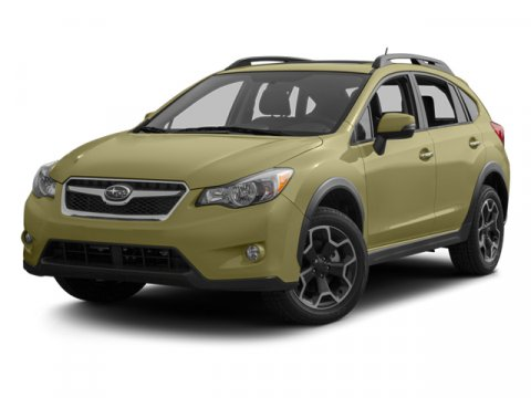 2013 Subaru XV Crosstrek Premium Satin White PearlTaupe V4 20L Variable 5 miles  2 SIDE CARG