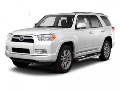 2013 Toyota 4Runner LIMITED 4WD White V6 40L Automatic 26290 miles 4WD and Black wLeather Se
