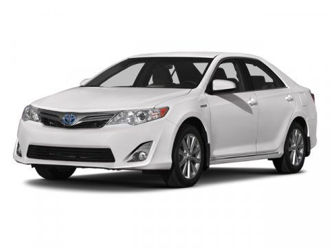 2013 Toyota Camry Hybrid XLE Super WhiteIvory V4 25L Variable 0 miles  BLIND SPOT MONITOR WLA