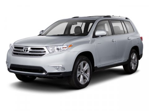 2013 Toyota Highlander Limited Shoreline Blue PearlGray V6 35L Automatic 0 miles  CARPETED FLO