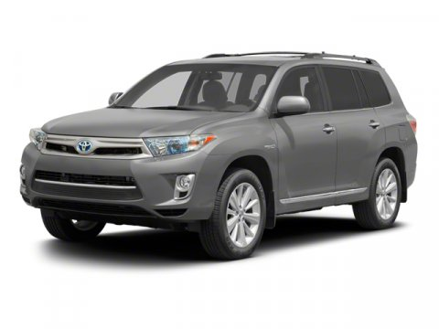 2013 Toyota Highlander Hybrid Limited 4WD Shoreline Blue PearlGray V6 35L Variable 5 miles  Fo