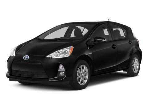 2013 Toyota Prius c One Absolutely RedGray V4 15L Variable 35 miles  Keyless Start  Front Whe