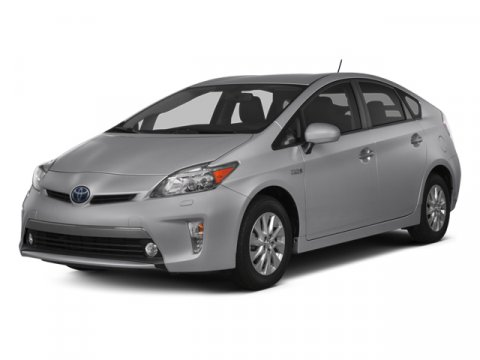 2013 Toyota Prius Plug-In Sea Glass Pearl V4 18L Variable 0 miles  Keyless Start  Front Wheel