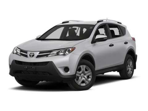 2013 Toyota RAV4 XLE Super WhiteBlack V4 25L Automatic 0 miles  Front Wheel Drive  Power Stee