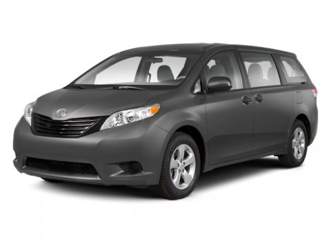 2013 Toyota Sienna LE LIGHT GRAY V6 35L Automatic 5 miles  All Wheel Drive  Power Steering
