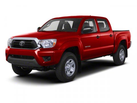 2013 Toyota Tacoma 4WD Double Cab LB V6 AT Magnetic Gray Metallic V6 40L Automatic 5 miles  Lo