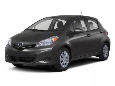 2013 Toyota Yaris LE Absolutely RedAsh V4 15L Automatic 7 miles  BODY SIDE MOLDING  CARPETED