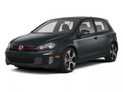 2013 Volkswagen GTI wConv  Sunroof Candy WhiteInterlagos V4 20L Automatic 50 miles  CARPETED