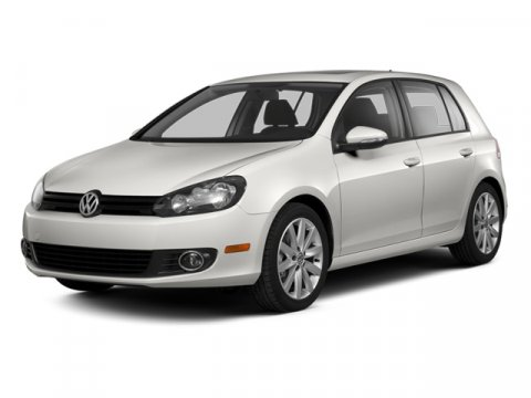 2013 Volkswagen Golf TDI wTech Pkg Candy WhiteTitanium Black V4 20L Automatic 25 miles  Turbo