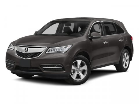 2014 Acura MDX Silver MoonENBLACK V6 35 L Automatic 2279 miles Executive Demo All Wheel Driv